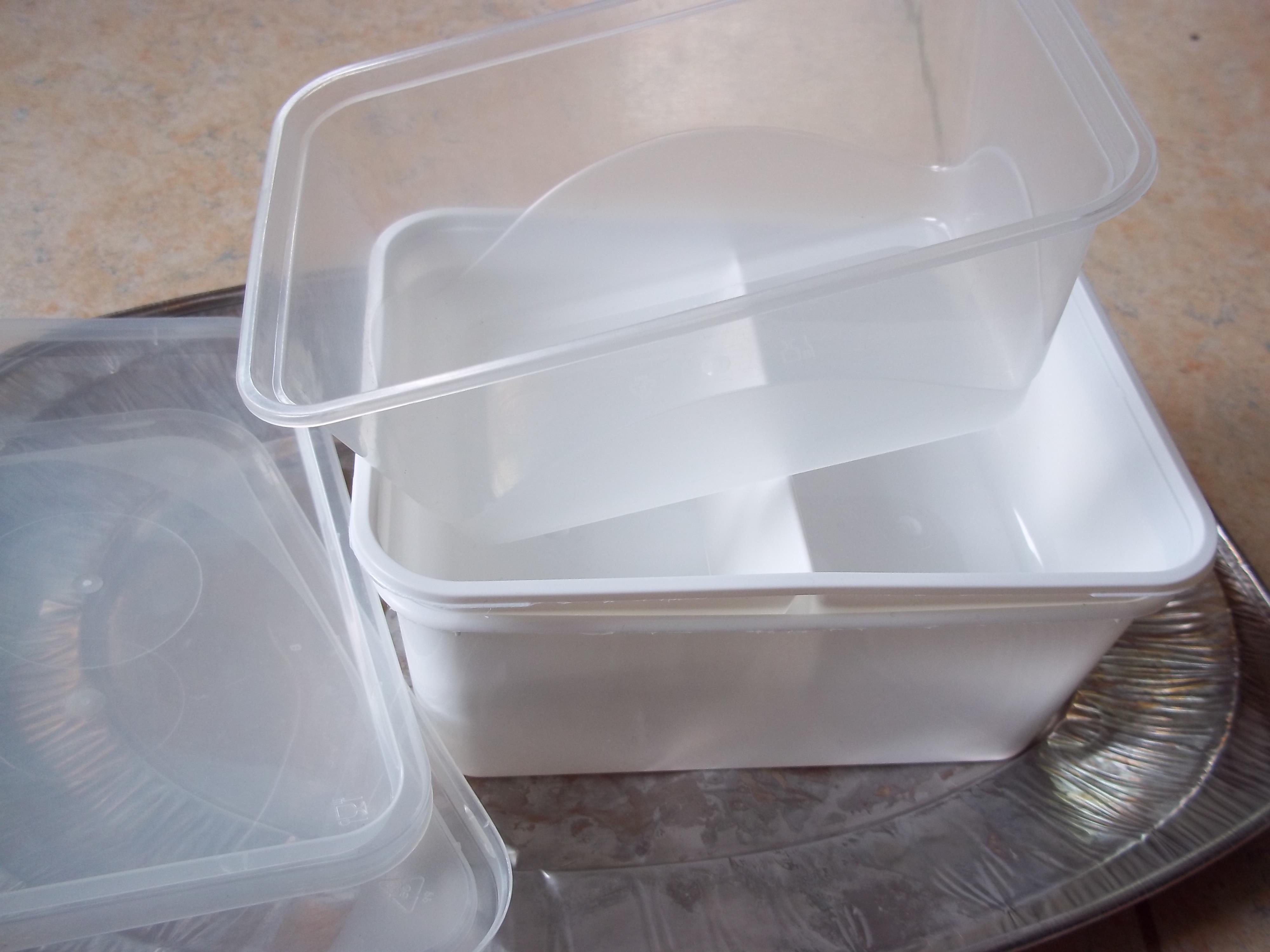 Dora plastic bakjes