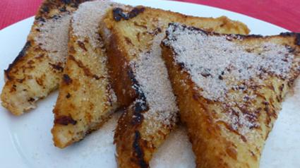 Een van de meeste bekende hergebruik gerechten met brood: WENTELTEEFJES
