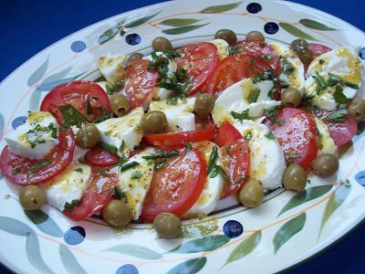 Dora mozzarella tomaat klein