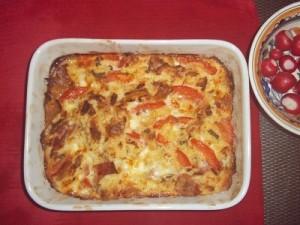 Dora broodschotel tomaat en mozzarella klein