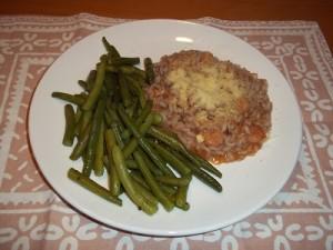 Dora risotto met sperziebonen klein