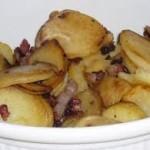 spek ui en aardappel