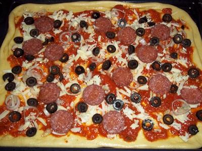 Dora pizza brooddeeg 2 klein
