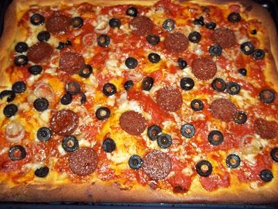 Dora pizza brooddeeg 3 klein
