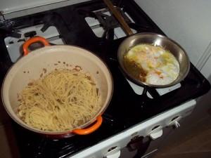 Dora spaghetti met broodkruim 1 klein