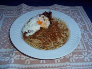 Dora spaghetti met broodkruim 2 klein