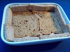 Dora spinazietaart brood 1 klein
