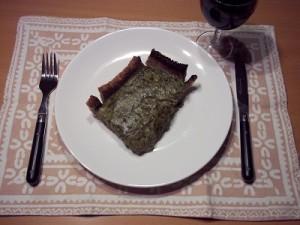 Dora spinazietaart brood 3 klein