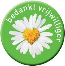logo bedanks vrijwilliger