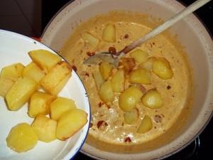 Dora curry aardappel 2 klein