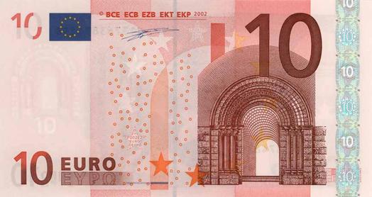 Dora tien euro
