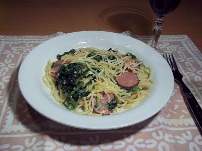 Dora rookworst spaghetti 2