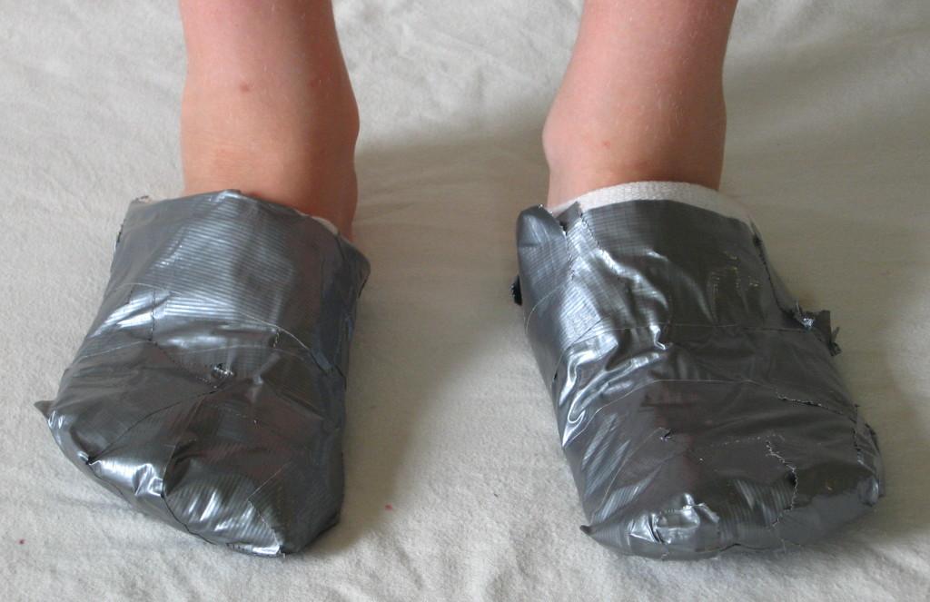 Dora schoenen tape 1