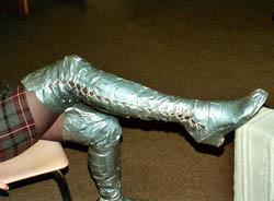 Dora schoenen tape 3