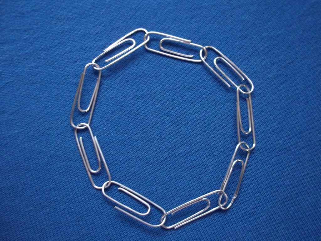 Dora wijsheid armband paperclips