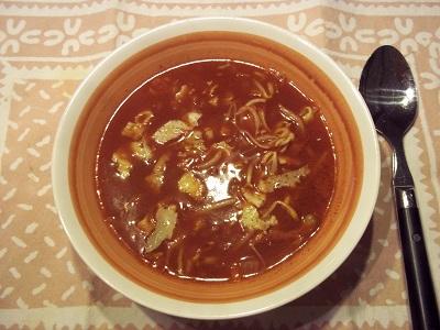 Dora chinese tomatensoep 2