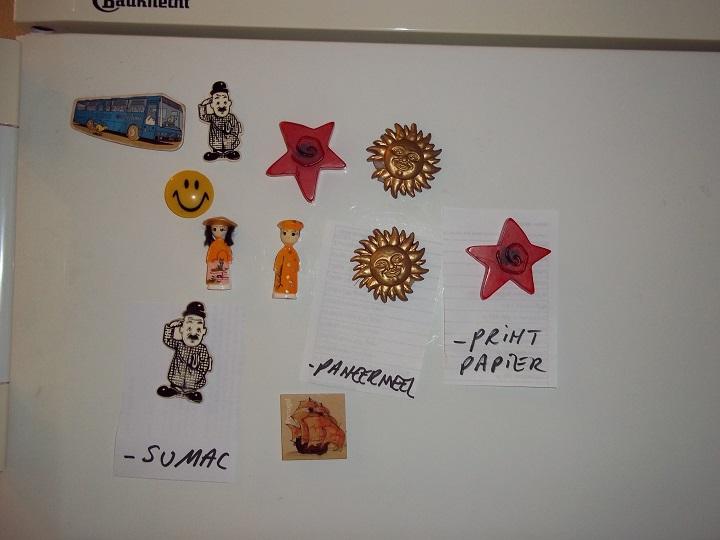 Dora koelkastmagneten 2
