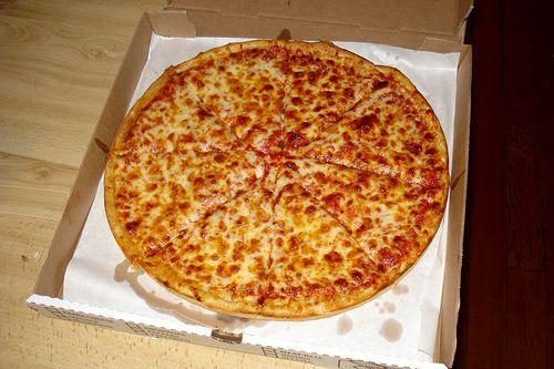 Dora pizza in doos