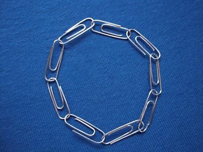 Dora wijsheid armband paperclips klein