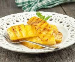 ananas met karamel