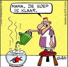 vissoep cartoon