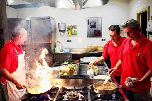 Een 'txoko': een kookclub voor mannen in Baskenland