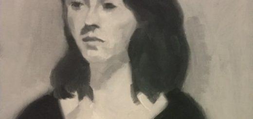 Werk van Claar van Leent, één van de exposerende kunstenaars